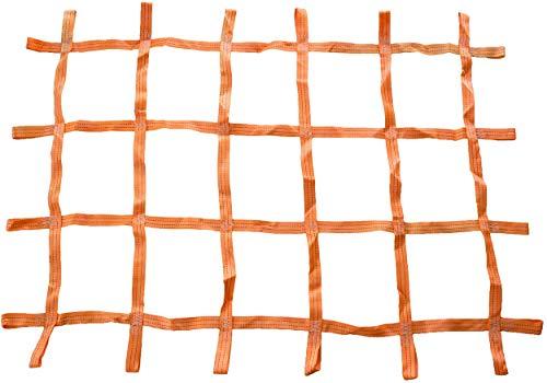 lasiprofi Zurrnetz für Kisten und Paletten 1,30 x 0,90 Meter Orange