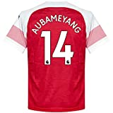Arsenal Home Trikot 2018 2018 + Aubameyang 14 - M