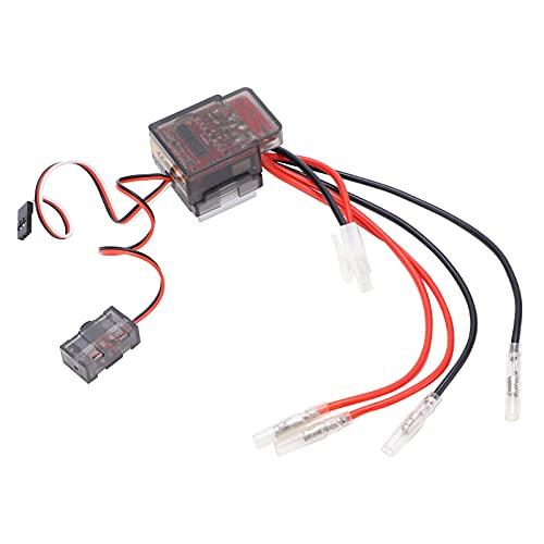 Bnineteenteam ESC, 7.2‑16V 320A Cepillo bidireccional Cepillo ESC Controlador de Velocidad ESC ESC 35 x 47 x 32 mm / 1,4 x 1,9 x 1,3 pulg.