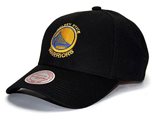 Mitchell & Ness Golden State Warriors Low Pro Adjustable NBA Cap Nero, Nero, Taglia unica