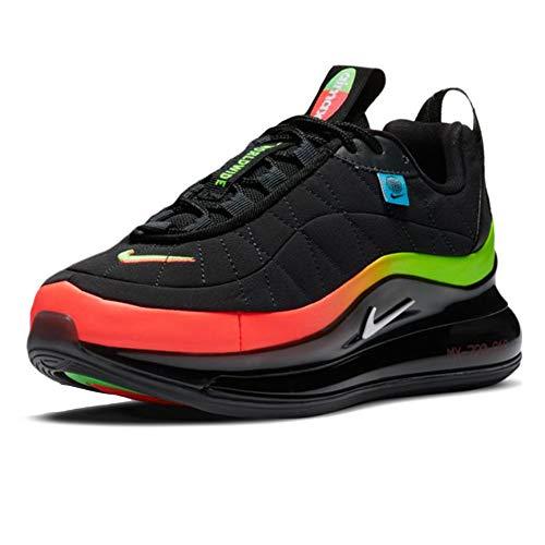 Nike Mx-720-818 (GS), Scarpe da Corsa Boys, Black/White-Green Strike-Flash Crimson, 37.5