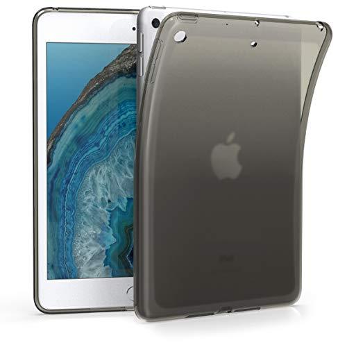 kwmobile Hülle kompatibel mit Apple iPad Mini 5 (2019) - Silikon Hülle transparent - Tablet Cover Schwarz Transparent