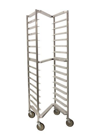 "PVIFS WE3018Z Z Series All Welded End Load Pan Rack, 20 Pan Capacity, 26"" Length x 20-1/8"" Width x 71-1/2"" Height"