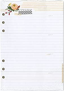Webster's Pages Color Crush A5 Personal Planner Inserts Memory Keeping, Acrylic, Multicolour by Webster's Pages