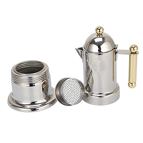 Stainless Steel Coffee Percolator Espresso Stove Top Maker Perculator Silver