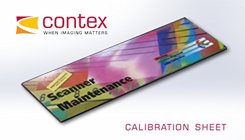"Contex Calibration Sheet, 44"", Packed"