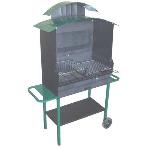 Barbecue con cappa h 180cm.