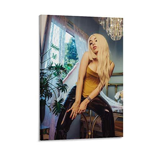 GSDGH Poster auf Leinwand, Motiv: Amanda Ava Koci Ava Max Pop Sänger Star Sexy Musik, 24 Stück
