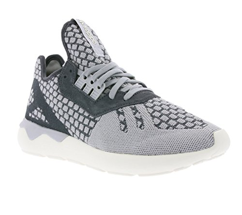 adidas Herren Tubular Runner Prime Knit Wool Sneaker, grau, 44 EU