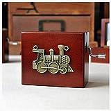 Lucidting Caja De Música De Manivela Caja De Música Música Harry Potter 04