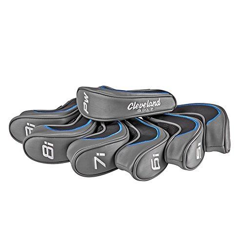 Cleveland Golf 2018 Men's Launcher Hb Iron Headcover 4-PW, Dark Gray (set of 7)