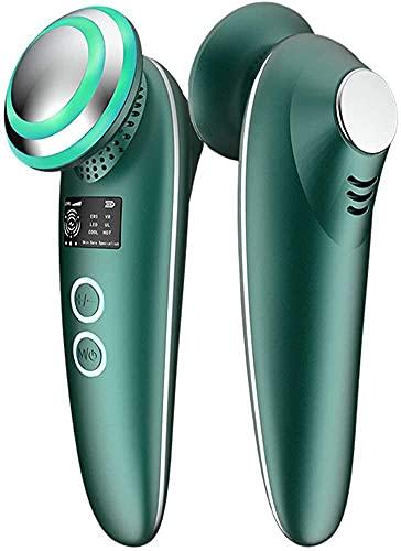 Máquina ultrasónica caliente y fría de la belleza de la cara del Massager de elevación facial de la máquina, para el ajuste de la piel, antienvejecimiento, cuidado de piel