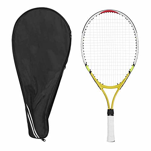 SALUTUY Raqueta De Tenis, Entrenamiento De Tenis Ligero para Niños para Deporte para Entrenamiento(Amarillo)