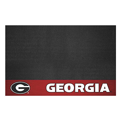 FANMATS NCAA University of Georgia Bulldogs Vinyl Grill Mat