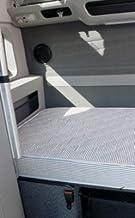 "Designs International 6.5"" Thick Luxury Mobile Mattress Gray Semi Truck Sleeper Cab Bed RV Bunk"