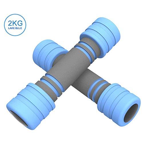 2 kg 3 kg Fitness Hantel verdickter Schwamm Arm Muskelübung Hanteln Hanteln Gewichte Set für Männer Frauen Hantel Handgewicht Langhantel
