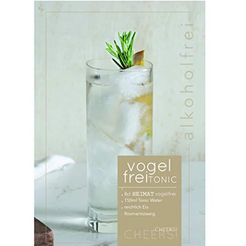 VOGELFREI alkoholfreie Gin Alternative mit 21 fruchtigen Botanicals aus der HEIMAT Destille wie Zitronenverbene, Thymian, Wiesensalbei und Wacholder - Handcrafted (1 x 0,5l) - 6