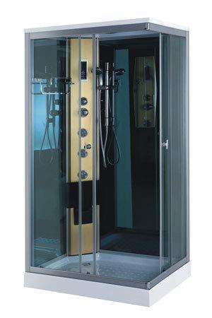 Dusche Duschkabine Modell PORTOFINO 100 x 70 cm Duschtempel Duschabtrennung Fertigdusche Eckdusche Komplett