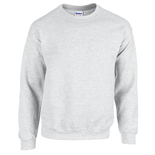 Gildan Heavy Blend Erwachsenen Crewneck Sweatshirt 18000 XL, Ash