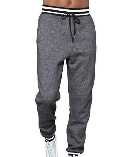 babao Pantalones de chándal con cordón para Hombre/Pantalones de Jogging Pantalones Sueltos Casuales Pantalones