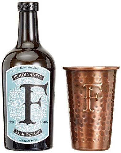 Ferdinand'S Saar Dry Gin mit Kupferbecher Gin (1 x 0.5), 1990