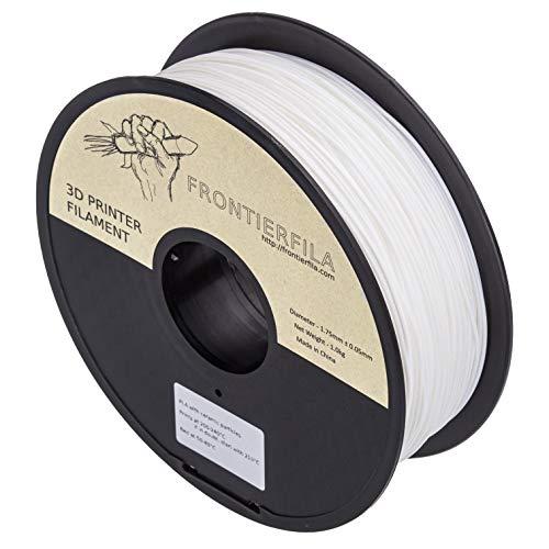 Partículas cerámicas en PLA 1kg 1.75mm blanco - Filamento para impresora 3D - FrontierFila
