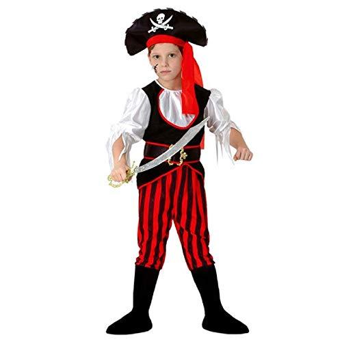 Lovelegis Talla l - 7/10 aos (120/130 cm) - Disfraz de Pirata - corsario - nio - Disfraz - Carnaval - Halloween - Cosplay - Accesorios