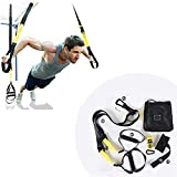 DYXT Multifunzionale Sling Allenatore Sling Training Set con Ancora Porta per Allenamento Total Body Slingtrainer