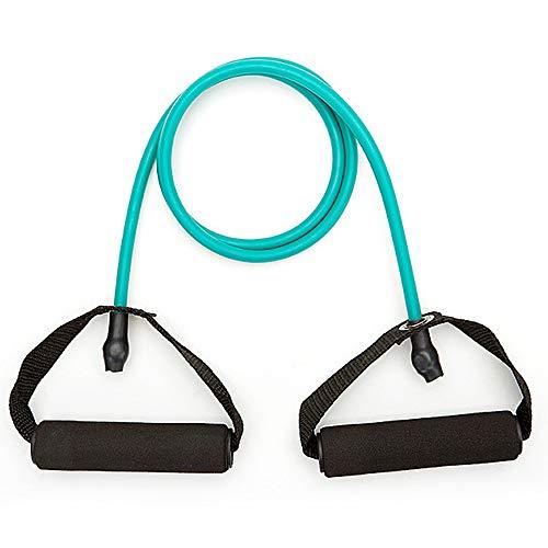PLMOKN Home Tragbare elastische Zugseile Sit Up Übungsbänder Abnehmen Bodybuilding Gym Krafttrainingsgeräte(Green)
