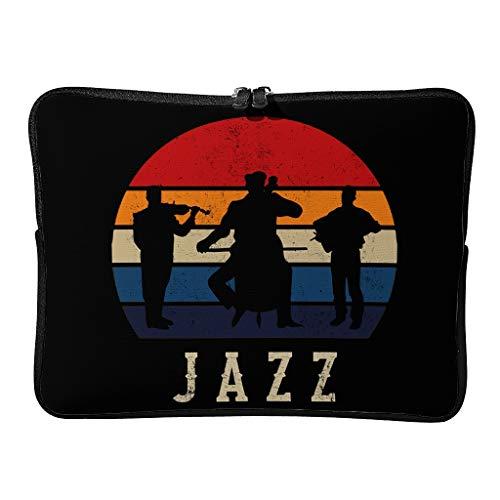 Funda para portátil Jazz estilosa diaria ampliable – Funda para tablet, adecuada para interiores y exteriores