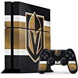 Skinit Decal Gaming Skin for PS4 Console and Controller Bundle - Officially Licensed NHL Vegas Golden Knights Jersey Design
