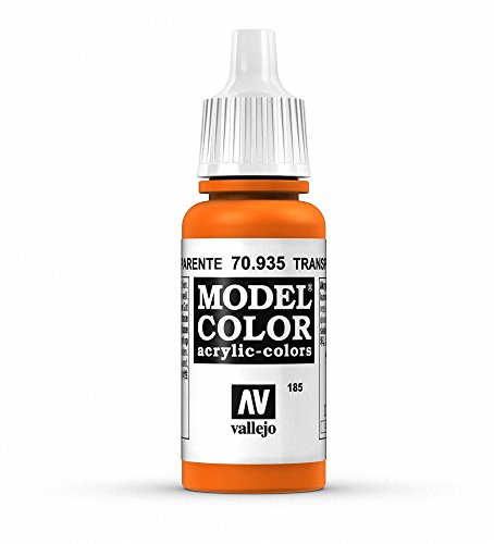Vallejo 70.935 - Colore Acrilico Opaco , Arancio Trasparente (Trans Orange), 17 ml, 1 Pezzo