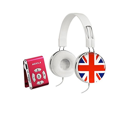 Audiola SDB 8811 + Headset Lettore Digitale Portatile