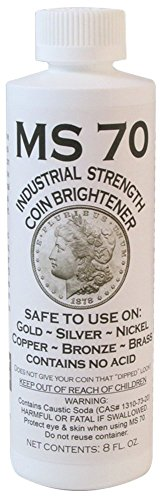 MS-70 Coin Cleaner -8 oz