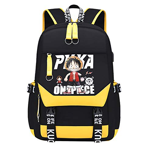 Large-capacity anime cartoon bag youth backpack gift