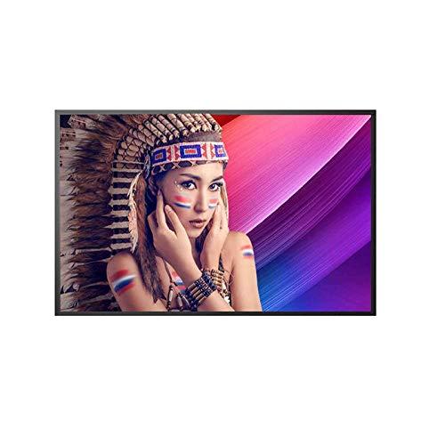ZFFSC TV di qualità HD TV 4K Smart Full-HD TV LED TV, Smart Internet TV, 32 42 50 55   60 Pollici, WiFi Integrato, può Essere utilizzato Come Computer Moni TV di qualità HD