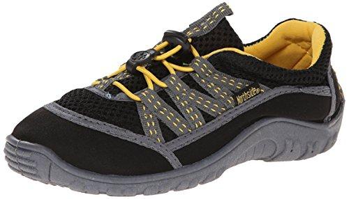 Northside Brille II Hiking Boot, Black/Yellow, 13 M US Little Kid