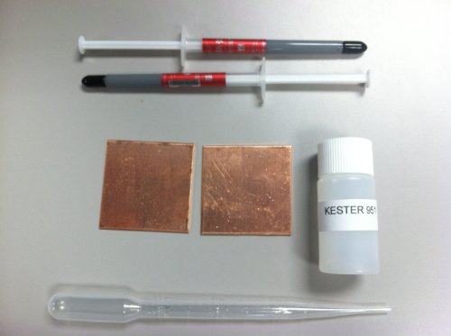 FAULTY PS3 FAT SLIM COPPER SHIMS FIX REPAIR KIT YLOD THERMAL PASTE KESTER 951