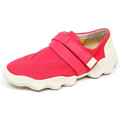 E5516 (Without Box) Sneaker Bimba Canvas/Leather CAMPER Scarpe Shoe Kid Girl [28]