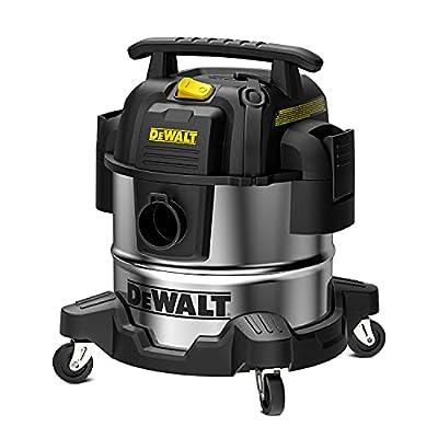 DEWALT 5 Gallon Stainless Steel Wet/Dry Vac, 4 Peak HP Horsepower Shop Vacuum Cleaner, DXV05S