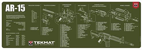 TekMat Tappetino per la Pulizia con Esploso Parti M1 Garand 31x92cm