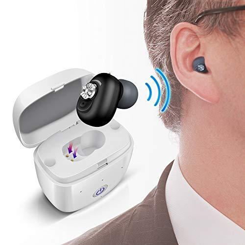 沐光集音器 高齢者集音器 ワイヤレス充電 目立ちにくい 耳穴式 きれいでクリアな音 VHP-611 片耳用