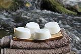 100% Bio Duschseife | reine Naturseife aus rohem, kaltgepresstem Bio Kokosöl | liegt perfekt in der...