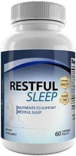 Dr.Colbert's Restful Sleep - 60 Day Supply - 60 Veggie Capsules - Melatonin - L-theanine - 5htp - GABA - Formulated by Dr. Don Colbert