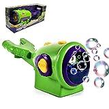 FXQIN Blasenmaschine für Fahrrad Automatische Seifenblasenmaschine Batteriebetrieben, Tragbare Bubble Machine für Geburtstagsfeier, Hochzeit und Weihnachten Geschenk, Bubble Blower Toy