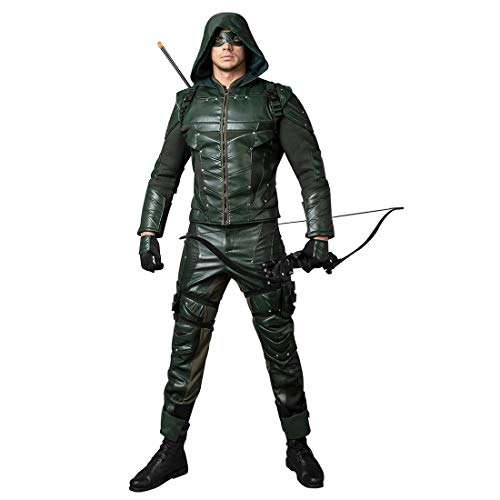 CosFantasy Season 5 Oliver Queen Cosplay Arrow Costume mp003491 (Large)
