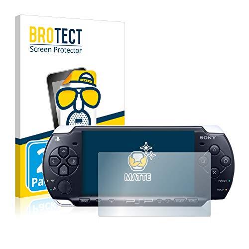 BROTECT 2X Entspiegelungs-Schutzfolie kompatibel mit Sony PSP 3004 Displayschutz-Folie Matt, Anti-Reflex, Anti-Fingerprint