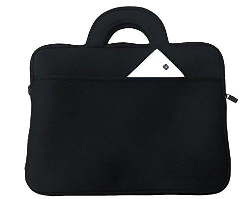 Wasserfeste Schutzhülle für Laptops / Ultrabooks Laptophülle Aktentasche Handtasche Tablet Sleeve Für Apple MacBook /ipad/ Samsung 17zoll Schwarz