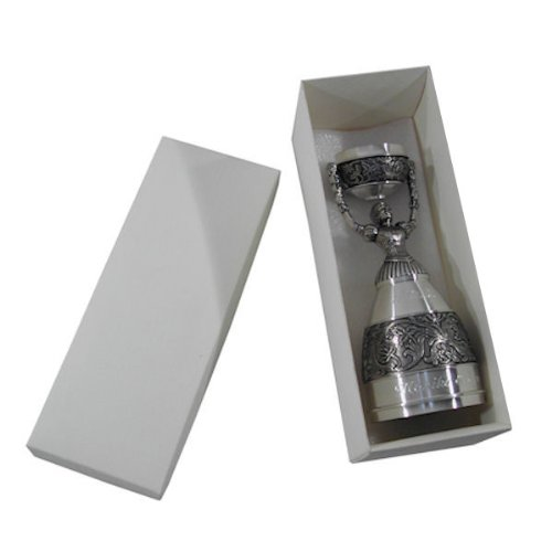 Zinn Brautbecher mit Gravur (!) - in Geschenkverpackung