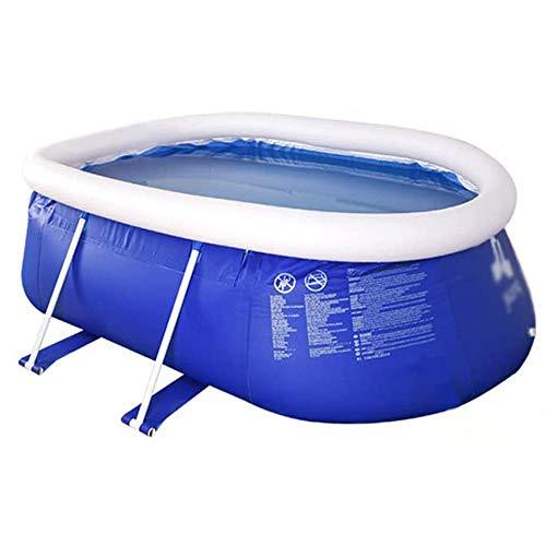 DFKDGL Aufstellpool Babypool Pool Planschbecken Kinderpool Kinderplanschbecken Schwimmbecken,Stabiler und leicht aufbaubarer Kinderpool für Baby-s Kind-er Terrasse Garten
